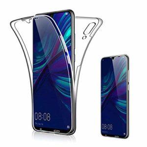 Suhctup Coque Comapatible pour Moto G3/XT1540,Étui Protection Complète Transparent Silicone TPU Double Face Housse Couverture Case Anti-Rayures Intégral 360 Degrés Crystal Cover