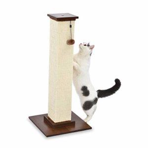 AmazonBasics Griffoir pour chat de qualité supérieure – Taille L 41 x 89 x 41 cm, bois