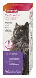 BEAPHAR – CATCOMFORT – Spray calmant aux phéromones pour chat – Réduit le stress et les problèmes comportementaux sans dépendance ni somnolence – Prêt à l'emploi – Flacon 60 ml