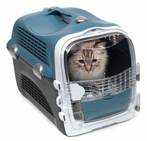 Cat it Catit Cabrio de Transport Bleu Gris