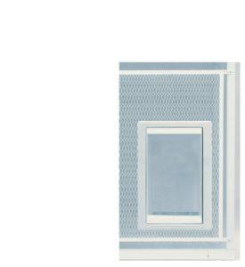 Idéal pour animal domestique portes protection d'écran pour animal domestique Porte, Extra Large, 26,7x 38,1cm Rabat Taille