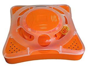 M-PETS Orbit Orange 27x27x9cm pour Chat
