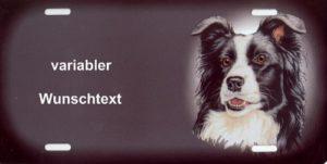 Panneaux personnalisable pour chien Border Collie–Chien warnschilder