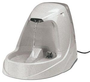 PetSafe – Fontaine Cascade Drinkwell Platinum 5 L pour Chien et Chat – Débit réglable – Retient les Odeurs et Bactéries