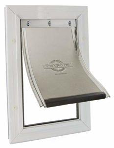 PetSafe – Petite Chatière Staywell Robuste en Aluminium (S) pour Chat et Petit Chien – avec Système de Verrouillage – Robuste – Isolante – (6,2×20,2x30cm)