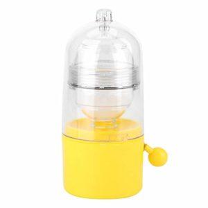 Portable Egg Scrambler Shaker Fouet Alimenté À La Main Golden Egg Maker Oeufs Jaune Jaune Mélangeur Cuisine Gadgets pour Mélanger l'œuf