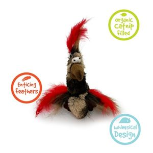Rosewood Câlin Condor Kitty Jouet à Herbe à Chat 15 cm