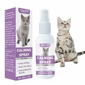 Spray Calmant pour Chat,Anti-Stress pour Chat,Spray Apaisant à Base de Plantes, Comfort Zone Spray and Scratch Control Calming Spray for Cats