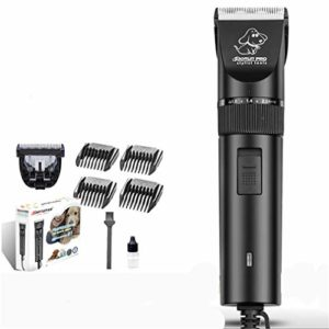 SXFJF Pet Clippers Cheveux Tondeuse Électrique Rechargeable Animaux Toilettage pour Animaux Clipper Faible Bruit Tondeuse À Cheveux pour Tous Les Animaux