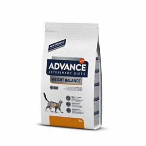 Advance Veterinary Diets Weight Balance Croquettes pour Chat Adult 3 kg