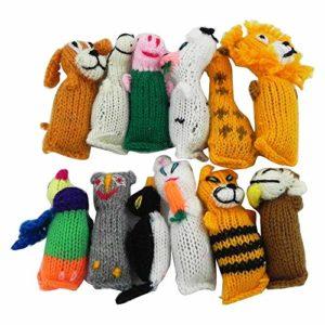 Chilly Jouet pour Chat en Laine tricotée à la Main avec Herbe à Chat