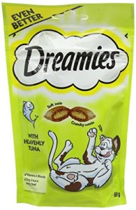 Dreamies Friandises pour chats – Thon ( Tuna ) – 60g (8 Paquets)
