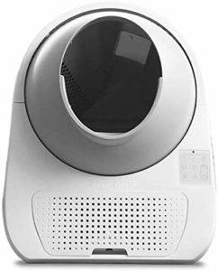 Fournitures pour animaux de toilette pour chat litière pour chat Bowl boîte vocale intelligente litière Bentonite chat litière toilette chat de nettoyage automatique à distance écopage normalisation