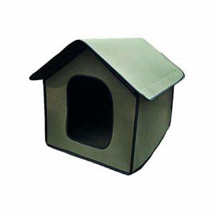 Maison d'extérieur pour animaux de compagnie, maison de chat étanche, maison de chien pliable pour animaux de compagnie, facile à assembler, convient à une utilisation extérieure ou intérieure