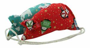 Molly de Noël à herbe à chat Souris – Lot de 2.