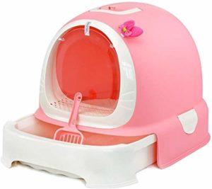 NOCEVCX Cat Litière, Type de tiroir WC Bassin de Sable fermé Grand Espace for Bedpan Pratique Déodorant Facile à Nettoyer (Couleur: B) Pet Supplies (Couleur: B) (Couleur: A) (Color : C)