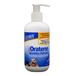 Pet King Brands Zymox Solution orale pour additif à l'eau, bouteille de pompe de 226,8 g