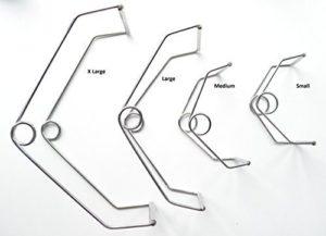 Surgical Instrument Specialists Barre Ressort Bouche Petit Animal Dentistes – S 6.3cm x 4.5cm