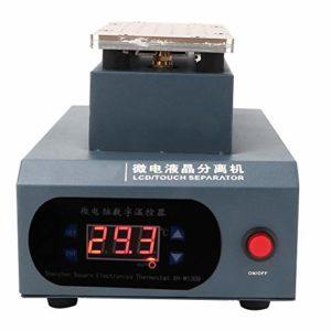 Température 0-120 ℃ téléphone LCD dissolvant trous de refroidissement LCD séparateur tactile chauffage rapide forte(European standard 220V)