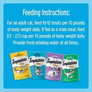 Temptations Classique Cat Treat Lot de différents