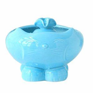 TLJF Abreuvoir pour Animaux Fournitures Cat Pet Distributeur d'eau Filtre Automatique de Circulation Abreuvoir Fontaine 1.3L (Color : Blue, Size : Free Size)