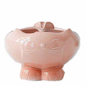 TLJF Abreuvoir pour Animaux Fournitures Cat Pet Distributeur d'eau Filtre Automatique de Circulation Abreuvoir Fontaine 1.3L (Color : Pink, Size : Free Size)