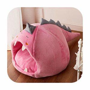 U-see Nid de lit pour chat pour chat Rose Taille L