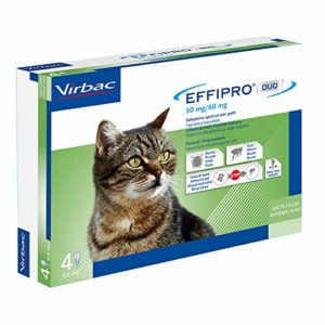 Virbac 104836022 Effipro'Duo Chat 4Pip