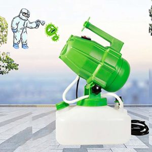 XINX Pulvérisateur De Désinfection Fogger Portable Ultra Low Atomizer Large Area Adapté Au Public Intérieur Et Extérieur 5.0L pour L'hygiène Intérieure/Extérieure,Vert,americano110V