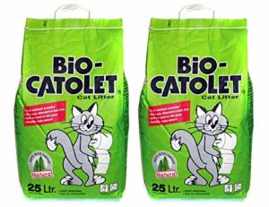 2 x Bio-Catolet | Cat Litter | 25l