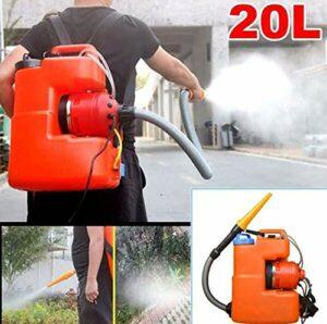 YLEI Pulvérisateur Électrique Portable 20L ULV, Désinfection De l'environnement Et Machine De Nébulisation Agricole, Distance De Pulvérisation 6-10M