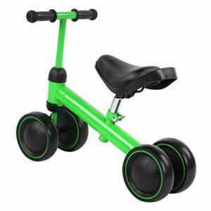 Aucun Jouet d'équitation de pédale de Pied Tourne Le Scooter pour l'exercice de Sports de Plein air pour Le Fitness en Plein air(Green)