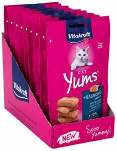 Cat Yums Saumon – Lot de 9 Paquets