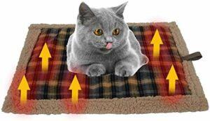 Châle de couverture électrique chaud, Auto-chauffage couverture animal de compagnie thermique coussinet pour animaux de compagnie couverture chat coussin chauffant chaud adapté aux chats et aux chiens