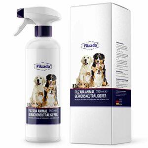 Filzada® Animal – Désodorisant pour animaux/neutralisant d'odeurs – Tueur d'odeurs idéal pour l'urine de chat et les odeurs d'animaux