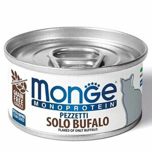 Flakes Only Buffalo – Moist Cat Food 24 Cans of 80 g