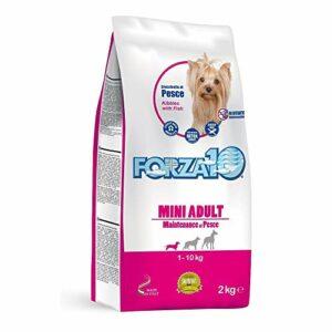 Force 10 chiens Mini Maintenance Poisson 2 kg x 3