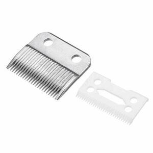 Jaimenalin Lot de 2 lames de rechange en céramique pour tondeuse à cheveux et barbe