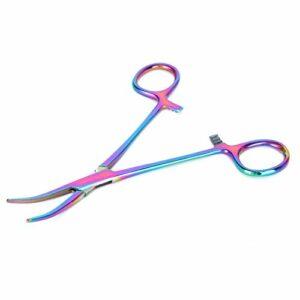 JULYKAI Pince à épiler Les Cheveux d'oreille, Pince à épiler Solide Durable pour Animaux de Compagnie, pour Chat(Elbow)