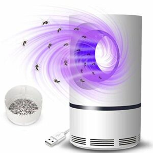 LXHY Pas de Bruit Bogue de Mouche électrique Zapper Mosquito Insecte Killer Trap de la Lampe antiparasitaire Pratique pour repousser Les moustiques
