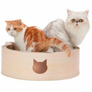 Necoichi Lit à Chat en Bouleau 1,55 kg