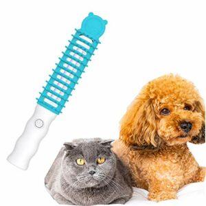 Peigne déodorant de toilettage pour animaux de compagnie, peignage de massage de pression de pression de pression électrique, brosse de toilettage sûr pour les animaux de compagnie Efficacité pour chi