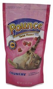 Pounce Thon croustillant Tartar et Plaque Control Friandises pour chat (lot de 6)