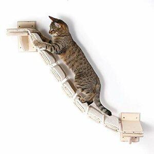 Schildeng – Mur d'escalade pour chat – Échelle d'escalade pour fixation murale – Pour le mur et l'intérieur