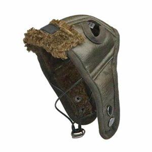 SUYIN Fournitures pour Chiens Chiens de Compagnie Chapeau Chiot Chaud Confortable Beau Casquette Poilt Automne Hiver Cachemire-Vert_L