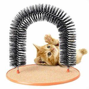 Tuker Arche à griffer pour chat et chaton (marron)