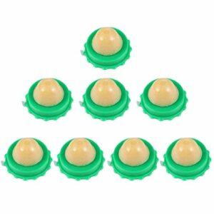 UKCOCO 8Pcs Bonbons pour Chat- Jouets à Lécher pour Chat Boule de Sucre Léchant Une Collation pour Chat Bonbons à Lherbe à Chat Pudding à La Vitamine Cataire pour Chat (Saveur