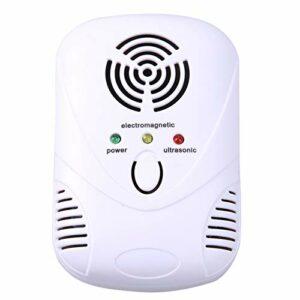 WLMGWRXB Répulsif ultrasonique Silencieux pour Souris, Peut être utilisé comme insectifuge pour veilleuse, la Zone Applicable est de 200 mètres carrés, Convient à Une Utilisation en intérieur