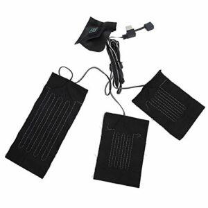 Felenny Gilet USB Coussin Chauffant Lumière Pratique Longue Durée de Vie Gilet Feuille Chauffante pour Vestes Gilets Autres Vêtements Chauffage de Chaleur