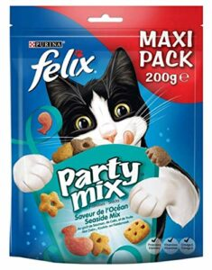 FELIX Party mix – Friandises saveur océan – pour chat – 200g